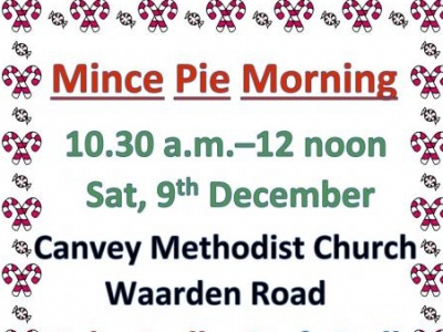 Mince Pie Morning - 2017
