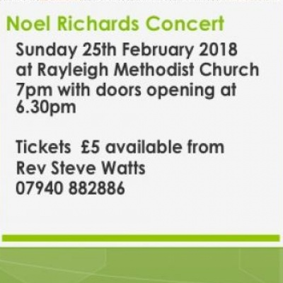 Noel Richards Concert Feb 2018