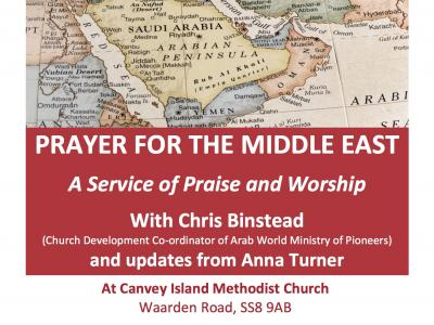 Prayer for the Middle East