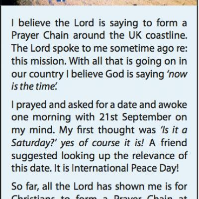 UK Coastal Prayer Chain